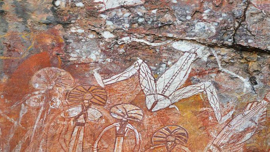 outback aboriginal rock art